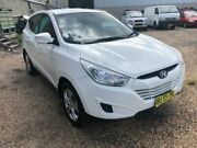 2013 Hyundai ix35 LM MY13 Active (FWD) White 6 Speed Automatic Wagon Tuggerah Wyong Area Preview