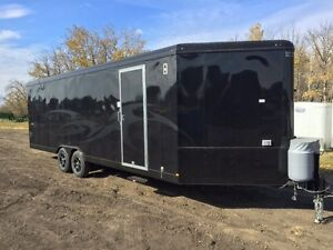 2016 28ft TNT Teton Sport BLACKOUT Sled Trailer $26900