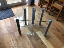 TV Corner Unit - Glass