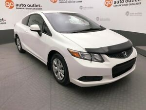 2012 Honda Civic $117 / BI-WEEKLY PAYMENTS O.A.C. !!! FULLY INSP