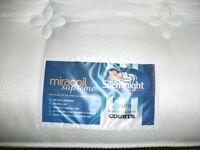 "SILENTNIGHT ""Miracoil Supreme"" Spring Mattress KING SIZE"