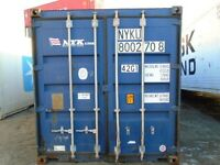 Mini Storage - steel shipping containers