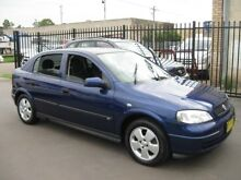 2004 Holden Astra TS CD Blue 5 Speed Manual Hatchback Cambridge Park Penrith Area Preview