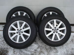 WINTER SNOW TIRES ALLOYS WHEELS 235 65 17 VOLVO XC90