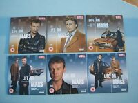 Life on Mars BBC Series 1 & 2 part one two 6 News of World Promo DVD Discs John Simm