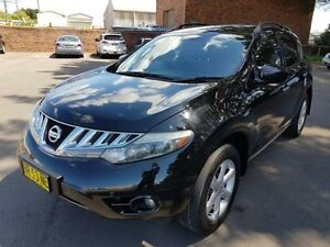2009 Nissan Murano Z50 TI Black Continuous Variable Wagon Georgetown Newcastle Area Preview
