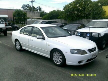 2007 Ford Falcon BF MkII Futura White 4 Speed Auto Seq Sportshift Sedan Coopers Plains Brisbane South West Preview