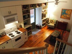 Cottage in the City: 2 bedroom house in Parkdale, AUGUST ONLY