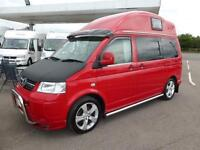 2010 VW HILLSIDE BIRCHOVER 2+2 BERTH VOLKSWAGEN 1.9 TDI HIGH TOP CAMPERVAN