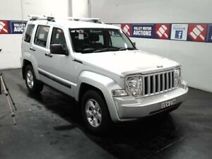 2010 Jeep Cherokee KK Sport (4x4) Silver 4 Speed Automatic Wagon Cardiff Lake Macquarie Area Preview