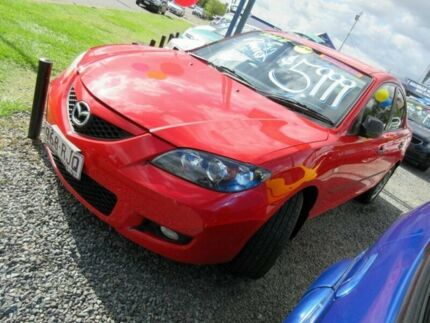 2006 Mazda 3 BK10F2 Neo Red 4 Speed Sports Automatic Sedan Moorooka Brisbane South West Preview