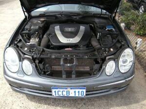 2005 Mercedes-Benz E280 211 MY06 Upgrade Avantgarde Grey 7 Speed Automatic G-Tronic Sedan Wangara Wanneroo Area Preview