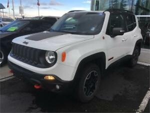 2016 Jeep Renegade Trailhawk white 40.000 km