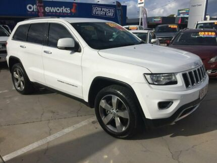 2014 Jeep Grand Cherokee WK MY15 Limited White 8 Speed Sports Automatic Wagon Maryborough Fraser Coast Preview
