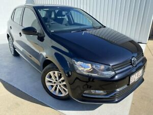 2014 Volkswagen Polo 6R MY15 81TSI Comfortline Black 6 Speed Manual Hatchback Mundingburra Townsville City Preview