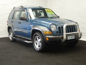 2006 Jeep Cherokee KJ MY05 Upgrade Sport (4x4) Atlantic Blue 4 Speed Automatic Wagon Derwent Park Glenorchy Area Preview