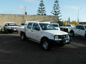 2011 Nissan Navara D40 MY11 RX (4x4) White 6 Speed Manual Dual Cab Chassis South Fremantle Fremantle Area Preview