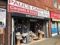 WELL ESTABLISHED CARPET RETAILER BUSINESS REF 160037