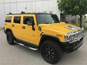 2006 HUMMER H2 4X4 6PASSENGERS NAVIGATION LEATHER SUNROOF