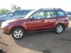 2012 Subaru Forester S3 MY12 XT AWD Red 5 Speed Manual Wagon Winnellie Darwin City Preview