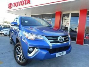 2015 Toyota Fortuner GUN156R Crusade Nebula Blue 6 Speed Automatic Wagon Allawah Kogarah Area Preview
