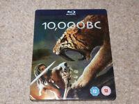 'Reduced' 10,000 BC Bluray Film, Steelbox, blu ray/blueray/blue ray
