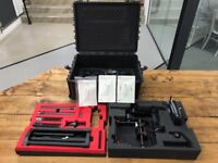 DJI Ronin-MX Stabilizer handheld complete kit + flight case almost Brand New
