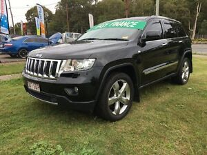 2011 Jeep Grand Cherokee WK Limited (4x4) Black 5 Speed Automatic Wagon Clontarf Redcliffe Area Preview