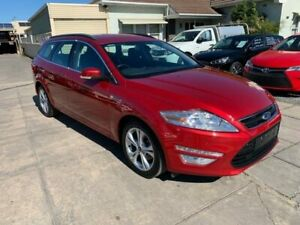 2012 Ford Mondeo MC Zetec TDCi Red 6 Speed Sports Automatic Wagon Park Holme Marion Area Preview