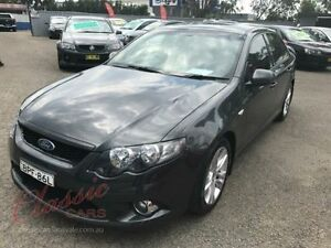 2009 Ford Falcon FG XR6 Grey 5 Speed Auto Seq Sportshift Sedan Lansvale Liverpool Area Preview