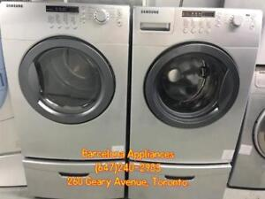 STACKABLE WASHER & DRYER FRONT LOAD UNITS FOR CHEAP