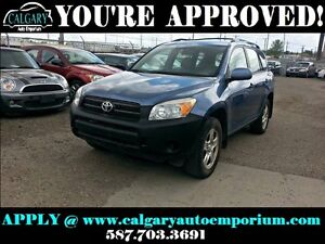 2008 Toyota Rav4 4x4 $99 DOWN EVERYONE APPROVED