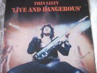 Vinyl LP Thin Lizzy - Live And Dangerous Vertigo 6641 807
