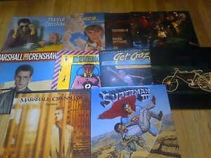 MARSHALL CRENSHAW VINYL LP COLLECTION 12 LPS TOTAL EX+ CONDITION