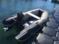 Zodiac Zoom dinghy plus Lehr Propane Outboard