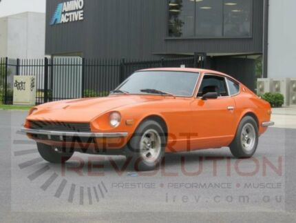 1972 Datsun 240Z Sports Orange 5 Speed Manual Coupe