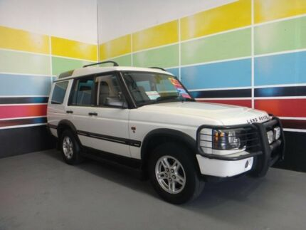 2003 Land Rover Discovery Series II S (4x4) White 4 Speed Automatic Wagon Wangara Wanneroo Area Preview
