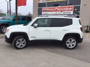2018 Jeep Renegade LIMITED 4X4|LEATHER|SUNROOF|TRAILER TOW