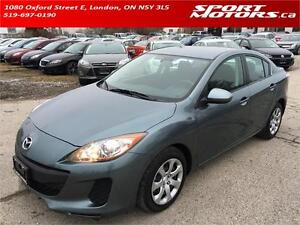 2012 Mazda3! New Brakes! **Only 39,000 KM** PWR Options! A/C!
