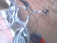 releigh foldup bike with gears £55 no offers