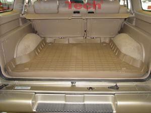 WeatherTech Cargo Liner Trunk Mat for Acura SLX/Isuzu Trooper - Tan