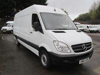 Mercedes-Benz Sprinter 313CDi LWB High Roof 3.5T Van DIESEL MANUAL WHITE (2013)