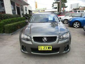 2011 Holden Commodore VE II MY12 SV6 Grey Auto Sports Mode Wagon North Parramatta Parramatta Area Preview