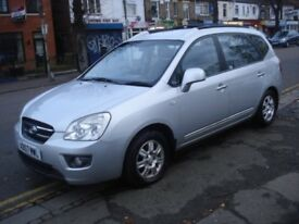 Kia CARENS 2.0 CRDi SR 5dr (7 Seats), 2008 model, Long MOT