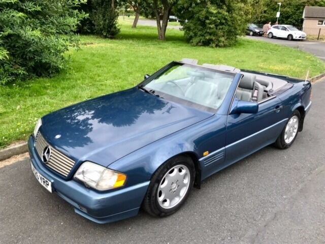 mercedes benz sl 500 sl500 500sl r129 1993 great condition long mot comprehensive history. Black Bedroom Furniture Sets. Home Design Ideas
