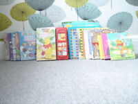 Selection of Sixteen (16) Infant & Toddler Books plus Five (5) DVD's All in Good & Clean Condition