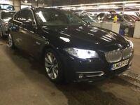 BMW 5 SERIES 2.0 520D MODERN 4d AUTO 181 BHP (black) 2013