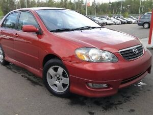 2007 Toyota Corolla S - Low KM! Alloys, Air Conditioning