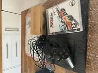 Playstation 3 Slim. Ps3. 2 Controllers and burnout. All cables.