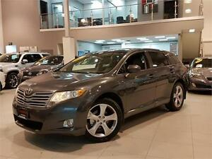 2009 TOYOTA VENZA V6 **LEATHER-20 INCH ALLOYS-NEW TIRES**